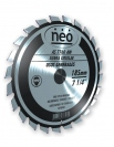 "Disco Widia P/Madera 8.1/4""-210mm. Neo 40 dientes AS7840AW"