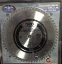"Disco Widia P/Madera 12""-305mm. Neo 60 dientes AS7840AW"